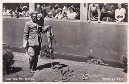 SNAKE PARK, PORT ELIZABETH, SOUTH AFRICA. PHOTO AR. VOYAGEE. CIRCA 1930s-TBE-BLEUP - Zuid-Afrika