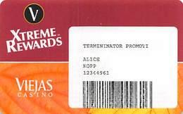 Viejas Casino - Alpine CA - Paper Terminator Promo Card - Casino Cards