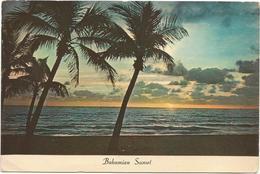 V2836 The Bahama Islands - Bahamian Sunset - Coucher Tramonto / Non Viaggiata - Bahamas