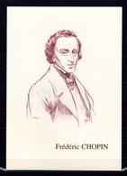 """"""" CHOPIN, EMMISSION FRANCE / POLOGNE """" Sur Encart 1° Jour De LUXE CERES N°té Sur SOIE (4 Pages) De 1999 N° YT 3287 - Music"""