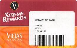 Viejas Casino - Alpine CA - Paper Galaxy Of Cash Card - Casino Cards