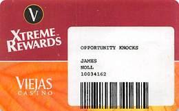 Viejas Casino - Alpine CA - Paper Opportunity Knocks Card - Casino Cards