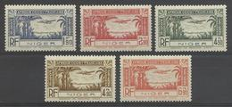 Niger 1940,Air Mail Omnibus,Scott # C1-C5,XF Superb MNH**OG With Tabs (FR-1) - Niger (1921-1944)