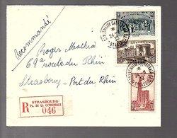 1939 R-Strasbourg-Place De La Cathédrale (293) - Lettres & Documents