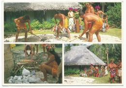 V2838 Tahiti - Hima'a Preparation Of The Tahitian Oven / Non Viaggiata - Tahiti
