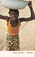 COTE D'IVOIRE/MEILLEURS VOEUX/IRIS N° 405 (dil122) - Ivory Coast
