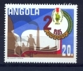 ANGOLA 1985  II CONGRESS OF MPLA - PARTY WORKER - Angola