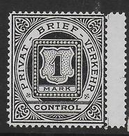 DEutsches Reich Privat Post Stadtpost Frankfurt - Privé