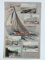 Trieste 336 Ed Hausner Wen 5006 1906 Bella - Trieste