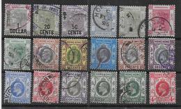HONG KONG - Lot De 18 Timbres  - Cote : 109,50 € - Hong Kong (...-1997)