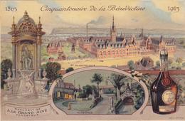 FECAMP Cinquantenaire De La Bénédictine 1863 - 1913 ( Voir Description - Fécamp