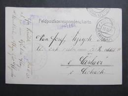 Feldpostkorrespondenzkarte Kriegsspital Sternthal B. Pettau - Caslav 1916   ///  D*35083 - 1850-1918 Imperium