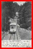 CPA KRIENS (Suisse)  Sonnenbergbahn, Funiculaire, Animé...CO1655 - LU Lucerne