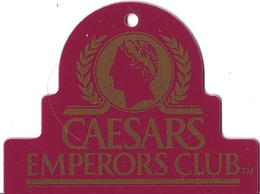 Caesars Casino Las Vegas, NV - Key Chain Dangle - Casino Cards