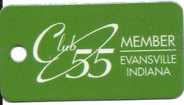 Tropicana Casino - Evansville, IN - Small Keychain Dangle For Seniors - Casino Cards