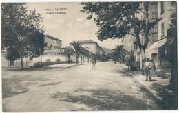 Ajaccio Cours Grandval Animee Messager A Velo Garages Du Sud Est  Garcon Corse Corsika Korsika Ungelaufen - Ajaccio