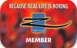 Palace Casino - Biloxi MS - BLANK Paper Z Club Membership Card - Casino Cards