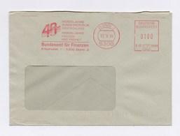 AFS - 40 Vierzig Jahre Bundesrepublik Deutschland, Bundesamt Für Finanzen BONN 13.9.89 - BRD