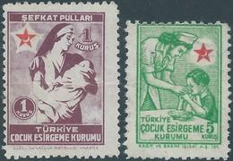 Turchia Turkey 1940-Child Protection Society  - Not Used - 1921-... Republic