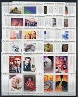 Canada (Scott No.1818-1834 Complete VF NH Set Millennium Mini Sheets) [**] CV $153 - 1952-.... Reign Of Elizabeth II