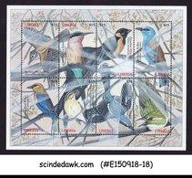 LIBERIA - 2000 BIRDS / BIRD - MINIATURE SHEET MINT NH - Oiseaux