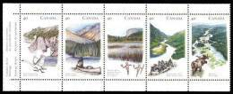 Canada (Scott No.1325a - Rivières Du Patrimoine / Heritage Rivers) [**] Bande / Strip - 1952-.... Reign Of Elizabeth II