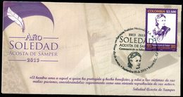COLOMBIA- KOLUMBIEN- 2013.  FDC/SPD. SOLEDAD ACOSTA DE SAMPER - Colombia