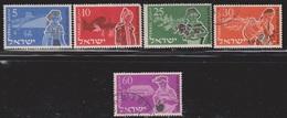 ISRAEL Scott # 94-8 Used - Israel
