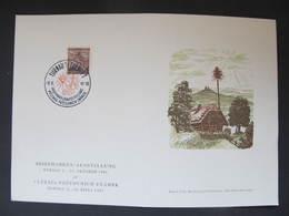 GEDENKBLATTT B.u.M. Turnov 1941 ///  D*35094 - Briefe U. Dokumente