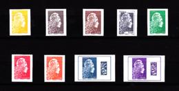 Marianne L'engagée Série 9 T Non Dentelé / Bloc Feuillet Du Salon 2018 - Unused Stamps