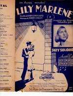 40 60 SUZY SOLIDOR PARTITION LILI MARLÈNE SCHULTZE 1940-1943 BILINGUE LEIP ALLEMAND - Music & Instruments