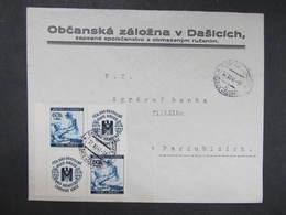 BRIEF Dasice Rotes Kreuz 1941 ///  D*35102 - Briefe U. Dokumente
