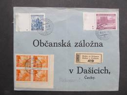R-BRIEF Holice - Dasice 1941 ///  D*35105 - Briefe U. Dokumente