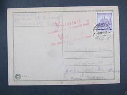KARTE Litomysl 1941 Propagande Viktoria Deutschland Siegt An Allen Fronten  ///  D*35106 - Briefe U. Dokumente