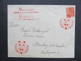 BRIEF Praha 1941 Propagande Viktoria Deutschland Siegt An Allen Fronten  ///  D*35107 - Briefe U. Dokumente