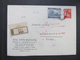 R-BRIEF Praha 1941 Propagande Viktoria Deutschland Siegt An Allen Fronten  ///  D*35108 - Briefe U. Dokumente