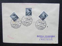BRIEF Bahnpost Zugstempel Iglau - Prag 1944 Nr. 32  ///  D*35109 - Briefe U. Dokumente
