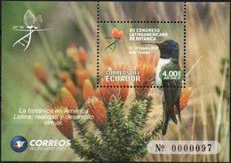 Ecuador 2018 ** HB XII Congreso Latinoamericano De Botánica. Espino En Flor. Colibrí. - Ecuador
