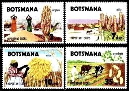 (019) Botswana  1971  Agriculture / Landwirtschaft  ** / Mnh  Michel 71-74 - Botswana (1966-...)