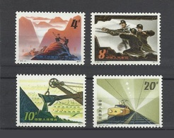 Chine China Cina 1978 Yvert 2209/2212 **developing Mines Charbon Coal  Ref T20 - 1949 - ... People's Republic