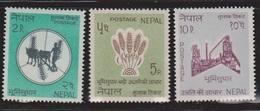 NEPAL Scott # 179-81 MH - Nepal