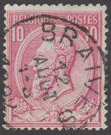 COB N° 46 - BRAIVES - 1884-1891 Léopold II