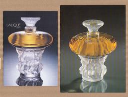 CC Carte Parfumée 'LALIQUE' 'LOT Pour FEMME' Perfume Card - Perfume Cards