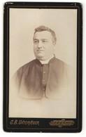 Foto G.B. Unterveger, Trento, Portrait Geistlicher Im Typischen Gewand - Mestieri