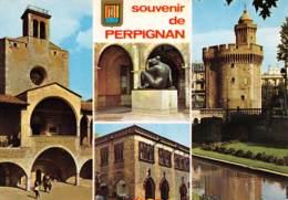 CPM - 66 - Souvenir De PERPIGNAN - Perpignan