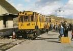 FONT-ROMEU (66) : TRAIN JAUNE DE CERDAGNE Voie Métriqre Alimentation Par 3ème Rail En état D'origine. - Trains