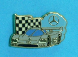 1 PIN'S //   ** MERCEDES SAUBER C9 / 1989 / AEG / N° 62 ** . (Arthus Bertrand Paris) - Mercedes