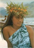 A Tender Polynesian Face - Tahiti