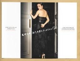 Carte 3 Volets Perfume Card COCO MADEMOISELLE EDP Intense * CHANEL * Voir Photos - Perfume Cards