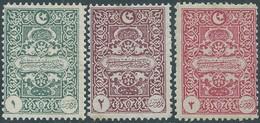 Turchia Turkey 1922, GENOA PRINTING POSTAGE DUE STAMPS , Not Used - Unused Stamps